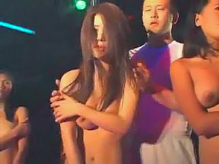 Asian Nudist Party Teen