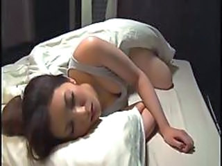Asian Daughter Japanese Sleeping