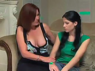 Daughter Lesbian MILF Mom Old and Young Teen
