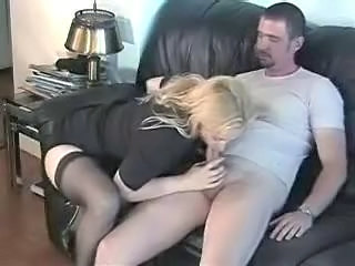 Amateur Blowjob Clothed Mature Stockings