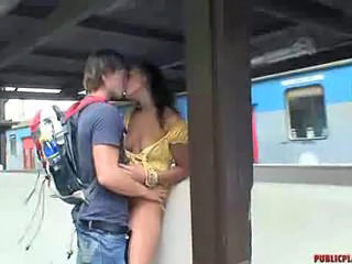 Kissing Public Russian