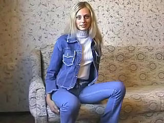 Amateur Jeans Russian Teen
