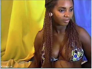 Ebony Long hair Teen Webcam