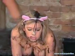 Bizarre BDSM Humiliation in the Mud