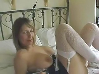 Mature MILF Stockings