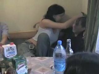 Drunk Kitchen Orgy Russian Student Teen