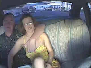 Car Glasses Handjob  Mature