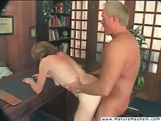 Doggystyle Extreme Mature Office Older