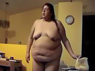 Alma Smego Is A Super Big Lady Doing Some Phone Sex At Home