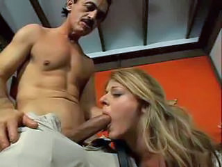 Blowjob Long hair MILF Old and Young