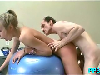 Daddy Doggystyle Old and Young Teen