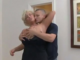 Big Tits Blonde Bus MILF Mom Old and Young