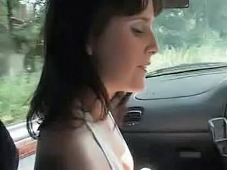 Babe Car Smoking