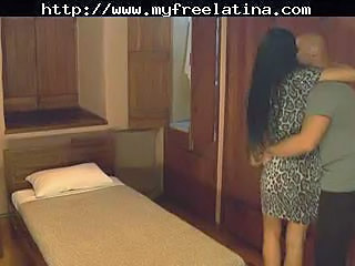 Brunette Bus Latina Wife