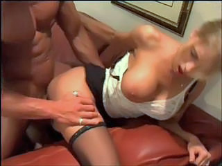 Big Tits Clothed Doggystyle Hardcore MILF Office Secretary Stockings
