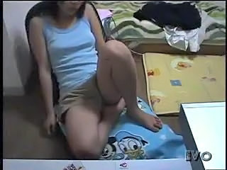Japanese Girl Alone At Home 22 - Voyeur Hidden Spycam