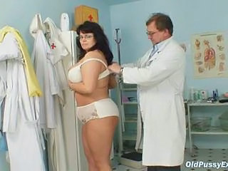 Bus Chubby Doctor Glasses Lingerie Mature Older