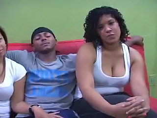 Amateur Chubby Latina Teen Threesome