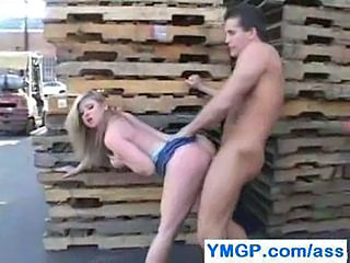 Doggystyle Hardcore Outdoor Public Teen