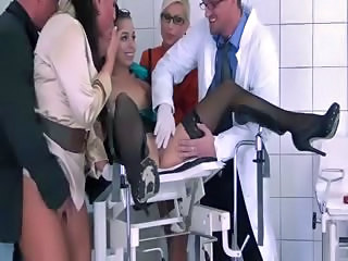 Doctor Masturbating Orgy Stockings Teen