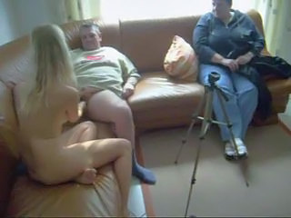 German Handjob Teen Threesome
