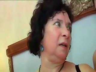 Brunette Granny Mature