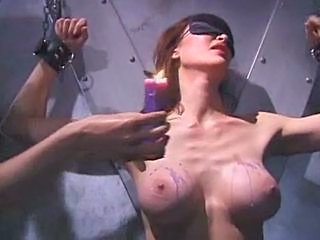 This Babe Is Tied Up And Tortured With Hot Red Candle Wax Sex Tubes