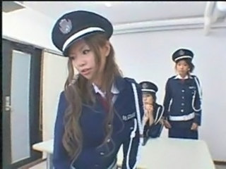 Asian Long hair Teen Uniform