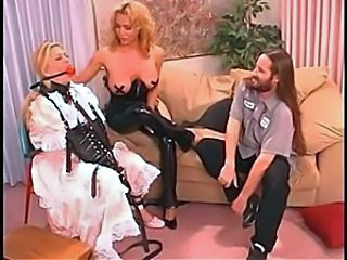Bdsm Latex Threesome Vintage