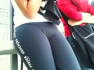 leggings hot  teen hot