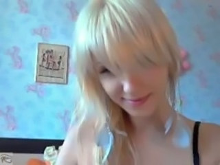 Rubia Bonita Adolescente Webcam