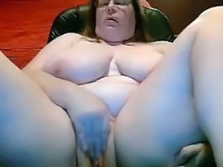 BBW Big Tits Masturbating Mature Mom Natural SaggyTits Webcam