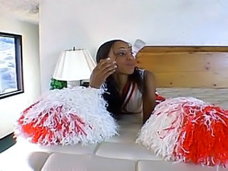 Cheerleader Ebony Teen Uniform