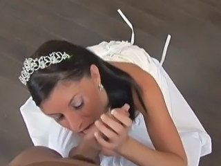 Bride Tiffany fucking onto couch
