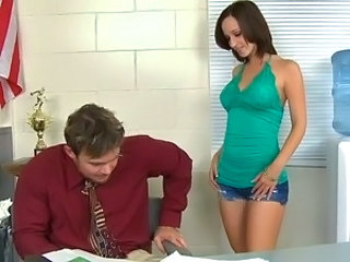 Cute Office Teen