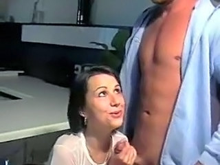 CFNM Handjob Kitchen Teen