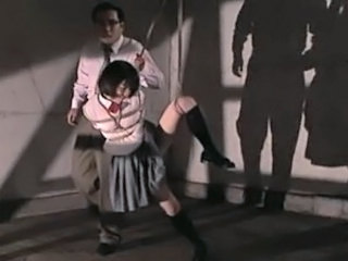 Asian Bondage School Teen Uniform