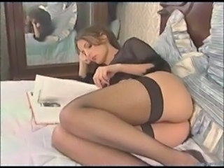 Ass Cute French Stockings Teen