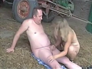 Farm Handjob Mature Older Small cock