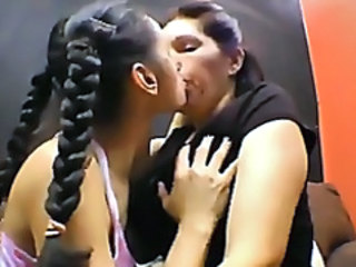 Brazilian Latina Lesbian Mature Old and Young Pigtail Teen