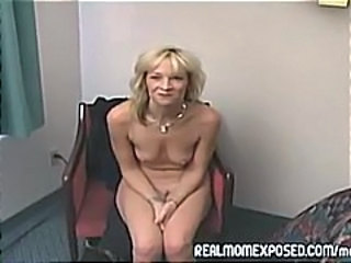 Blonde Mature SaggyTits Small Tits