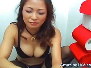 Asian Lingerie MILF Stockings