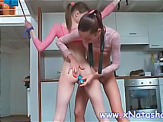 Anal Kitchen Pigtail Skinny Toy