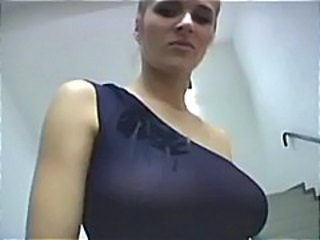 Big Tits Bus European MILF