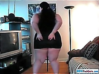 Ass BBW Dancing Solo Teen Webcam
