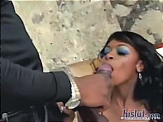 Big cock Blowjob Ebony
