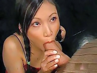 Asian Blowjob Cute Pigtail Teen