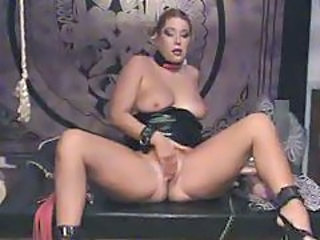 Latex Masturbating MILF