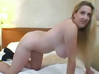 Amateur Long hair MILF SaggyTits
