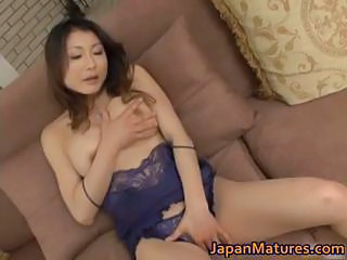 Asian Japanese Lingerie Masturbating Mature